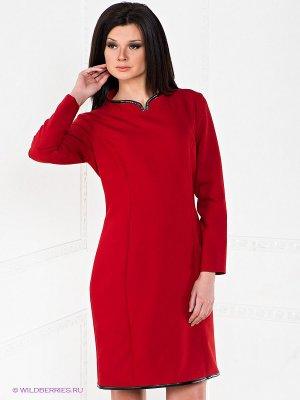 Платье Alkis. Цвет: красный