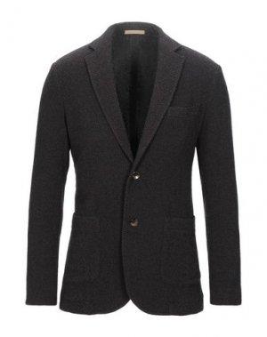 Пиджак CRUNA. Цвет: темно-коричневый