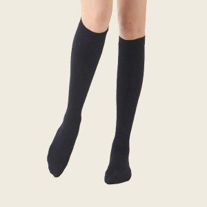 Носки выше колена SHEIN. Цвет: чёрный