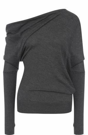 Кашемировый пуловер Tom Ford. Цвет: темно-серый