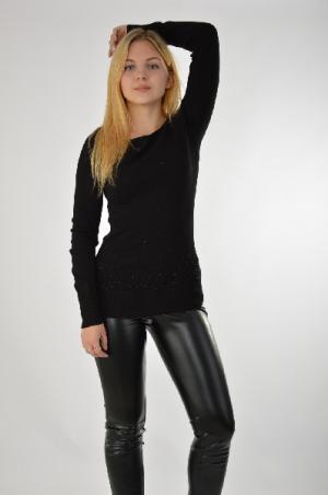 Пуловер Brionity. Цвет: черный