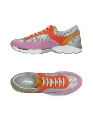Низкие кеды и кроссовки JOYKS. Цвет: розовый