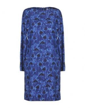 Короткое платье CACHAREL. Цвет: синий