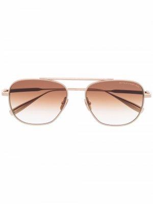 Dita Flight 009 sunglasses Eyewear. Цвет: золотистый