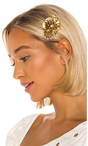 Гребень для волос vilette Elizabeth Cole. Цвет: металлический золотой