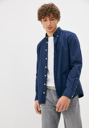 Рубашка Hackett London. Цвет: синий