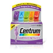 Женские поливитамины Women 50 Plus Multivitamin Tablets - (30 таблеток) Centrum