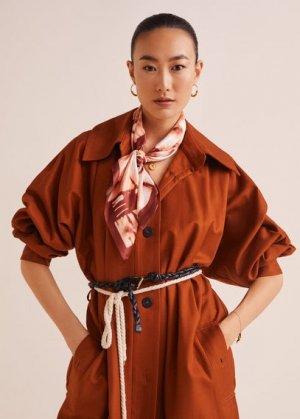 Платок tie-dye - Tiedye Mango. Цвет: золотисто-оранжевый