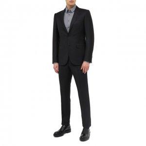 Шерстяной костюм Ermenegildo Zegna. Цвет: чёрный