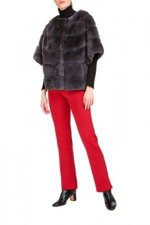 Short fur coat Manakas. Цвет: gray