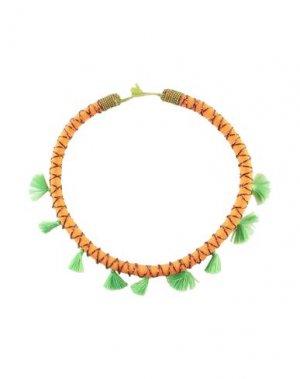 Ожерелье MALÌPARMI. Цвет: оранжевый