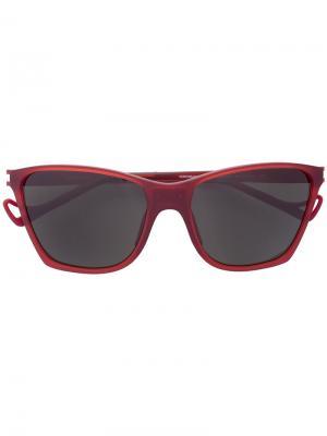 Солнцезащитные очки Keiichi District Sky G15 Vision. Цвет: красный