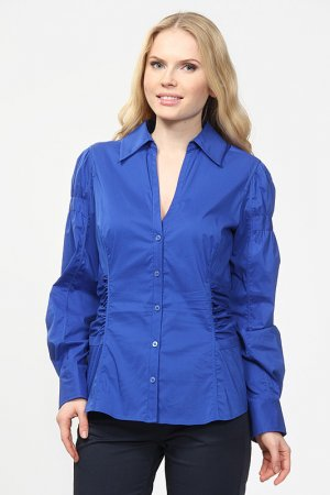 Рубашка Fairly. Цвет: синий