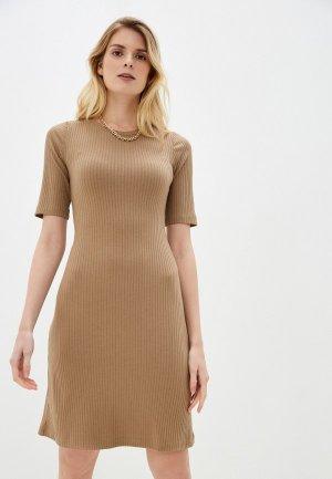 Платье Lacitta Avery. Цвет: бежевый