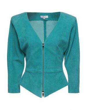 Пиджак JITROIS. Цвет: бирюзовый