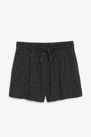 Пляжные шорты Monki. Цвет: черный, разноцветный