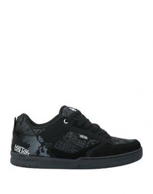 Кеды и кроссовки ETNIES. Цвет: черный