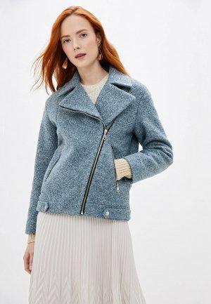 Куртка Doroteya. Цвет: голубой
