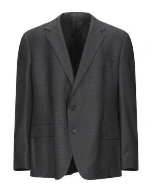 Пиджак GIEVES & HAWKES. Цвет: стальной серый