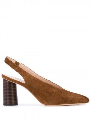 Туфли Estelle с ремешком на пятке Loeffler Randall. Цвет: коричневый