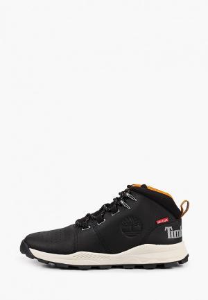 Ботинки Timberland BROOKLYN Mid Lace-Up. Цвет: черный