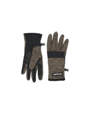 Перчатки COLUMBIA. Цвет: хаки