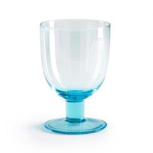 Комплект из бокалов для La Redoute. Цвет: синий