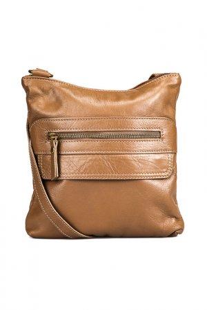 Clutch MANGOTTI BAGS. Цвет: beige