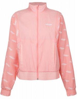 Ветровка женская adidas Favorites, размер 42-44. Цвет: розовый