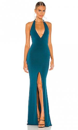 Вечернее платье illegal Nookie. Цвет: синий