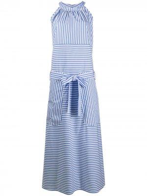 Stripe print dress Jejia. Цвет: синий