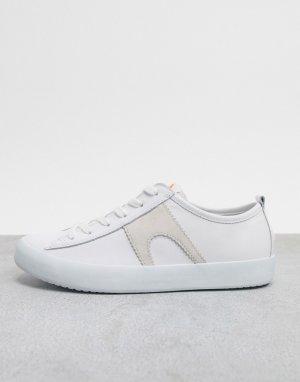 Белые кожаные кроссовки Imar-Белый Camper