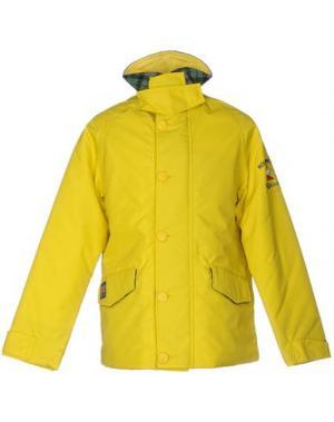 Куртка HARRIS TWEED. Цвет: желтый