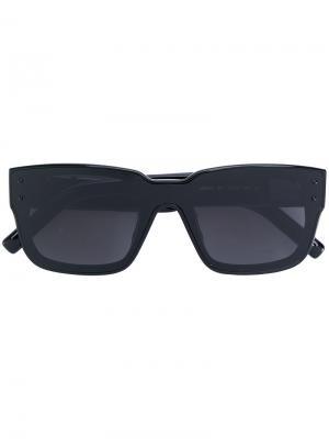 Square shaped sunglasses Marni Eyewear. Цвет: чёрный