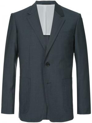 Классический пиджак Ck Calvin Klein. Цвет: синий