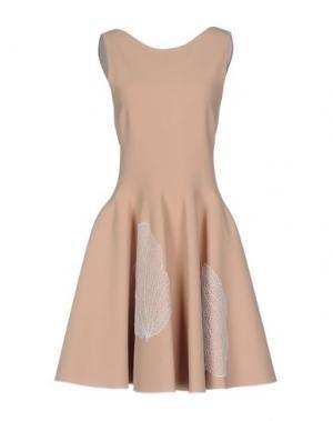 Короткое платье ANTONINO VALENTI. Цвет: телесный