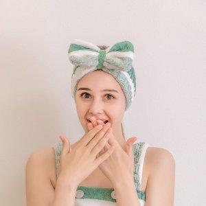 Повязка на голову для ванны с бантом SHEIN. Цвет: многоцветный