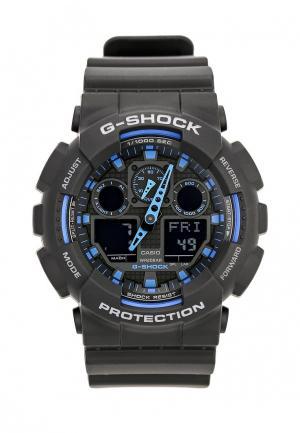 Часы Casio G-SHOCK GA-100-1A2. Цвет: черный
