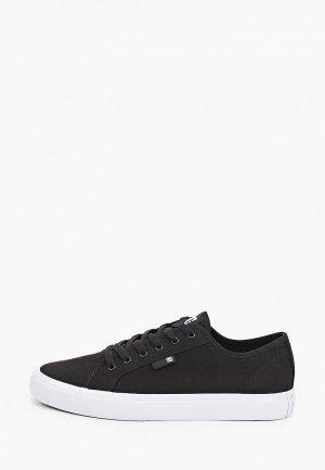 Кеды DC Shoes MANUAL M SHOE BKW. Цвет: черный