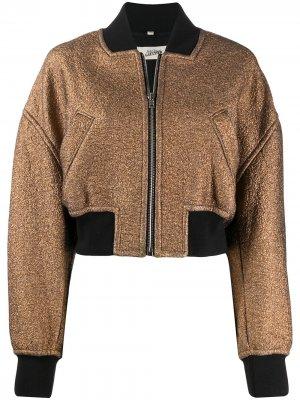 Куртка-бомбер 2000-х годов Jean Paul Gaultier Pre-Owned. Цвет: золотистый