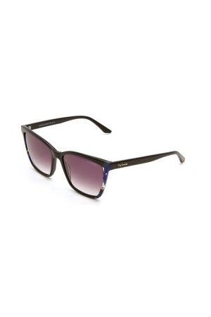 Очки солнцезащитные Guy Laroche. Цвет: 512 черный, синий