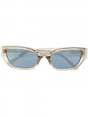 Солнцезащитные очки из коллаборации с Magda Butrym Linda Farrow. Цвет: нейтральные цвета