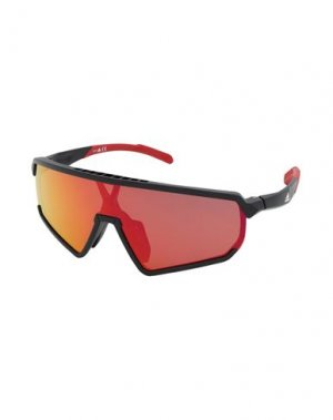 Солнечные очки ADIDAS. Цвет: черный