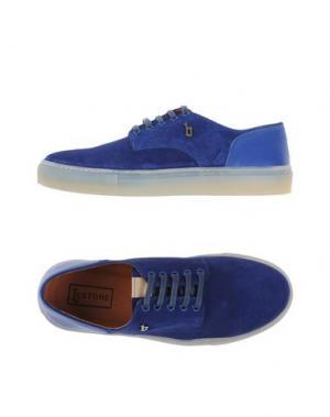 Низкие кеды и кроссовки B-STORE. Цвет: синий