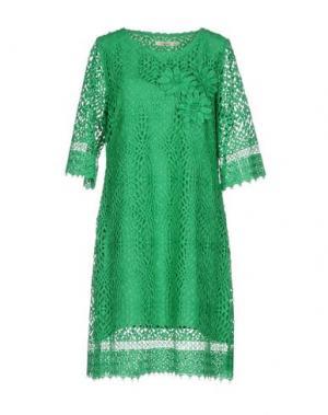 Короткое платье DARLING London. Цвет: изумрудно-зеленый