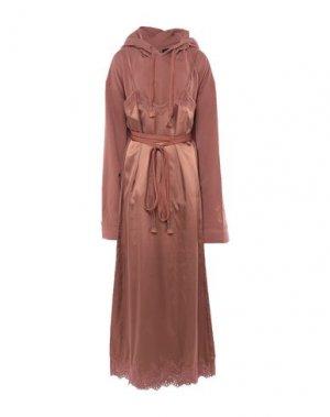 Короткое платье FENTY PUMA by RIHANNA. Цвет: коричневый