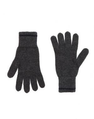 Перчатки WOOLRICH. Цвет: свинцово-серый