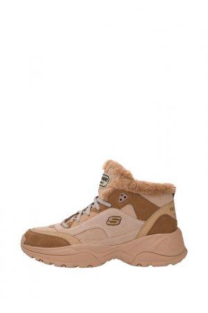 Ботинки SKECHERS. Цвет: tan