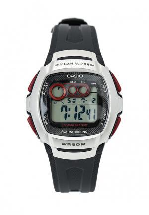 Часы Casio Collection W-210-1D. Цвет: черный
