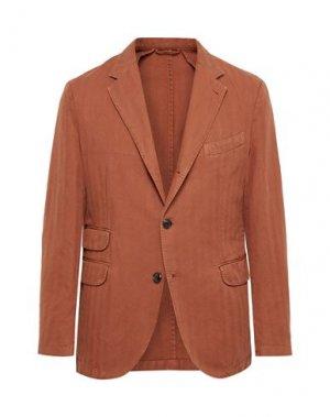 Пиджак MAN 1924. Цвет: ржаво-коричневый
